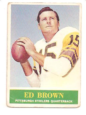 1964 Philadelphia #143 Ed Brown