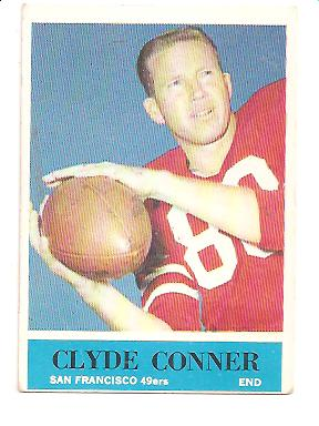 1964 Philadelphia #158 Clyde Conner