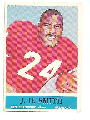 1964 Philadelphia #165 J.D. Smith