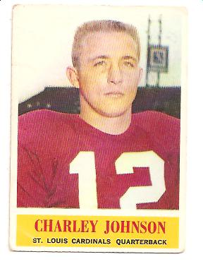 1964 Philadelphia #174 Charley Johnson