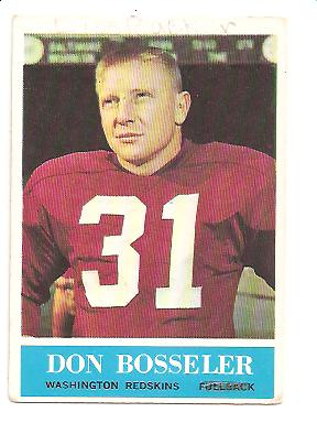 1964 Philadelphia #184 Don Bosseler