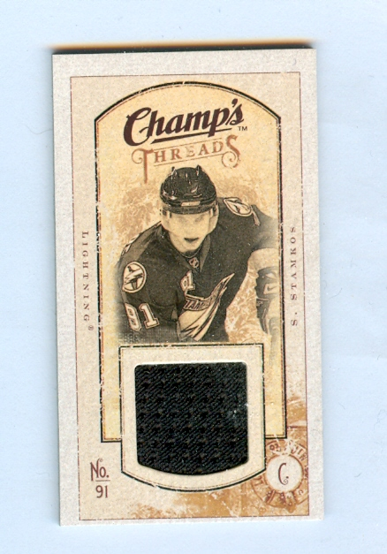 2009-10 Upper Deck Champ's Threads #MTSS Steven Stamkos
