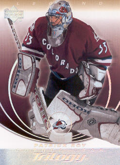 2003-04 Upper Deck Trilogy #24 Patrick Roy