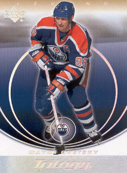 2003-04 Upper Deck Trilogy #38 Wayne Gretzky