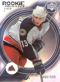 2003-04 Upper Deck Trilogy #186 Nikolai Zherdev RC