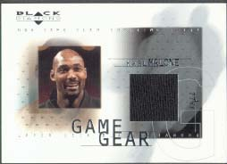 2000-01 Black Diamond Game Gear #KM, Karl Malone