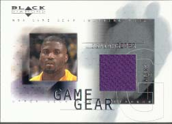 2000-01 Black Diamond Game Gear #IR, Isaiah Rider