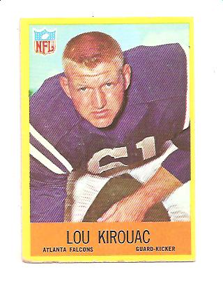 1967 Philadelphia #5 Lou Kirouac RC