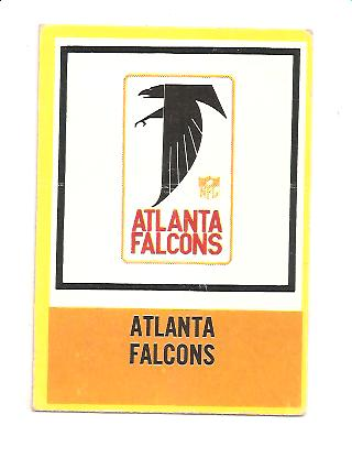 1967 Philadelphia #12 Atlanta Falcons