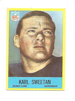 1967 Philadelphia #71 Karl Sweetan RC