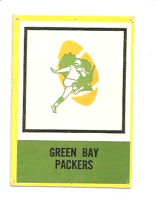 1967 Philadelphia #73 Green Bay Packers