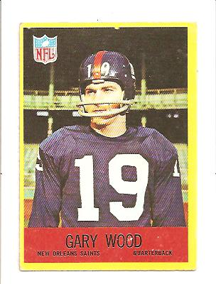 1967 Philadelphia #131 Gary Wood