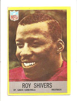 1967 Philadelphia #164 Roy Shivers RC