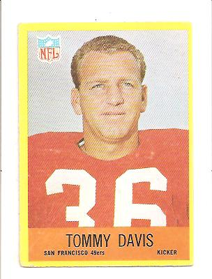 1967 Philadelphia #174 Tommy Davis