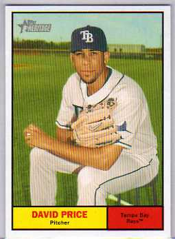 2010 Topps Heritage #426 David Price SP