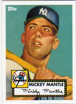 2010 Topps Cards Your Mom Threw Out #CMT1 Mickey Mantle