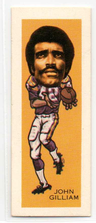 1974 Nabisco Sugar Daddy #6 John Gilliam