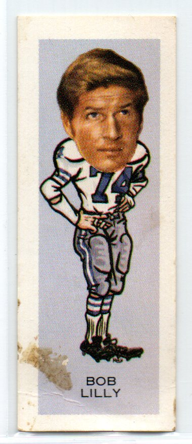 1974 Nabisco Sugar Daddy #7 Bob Lilly