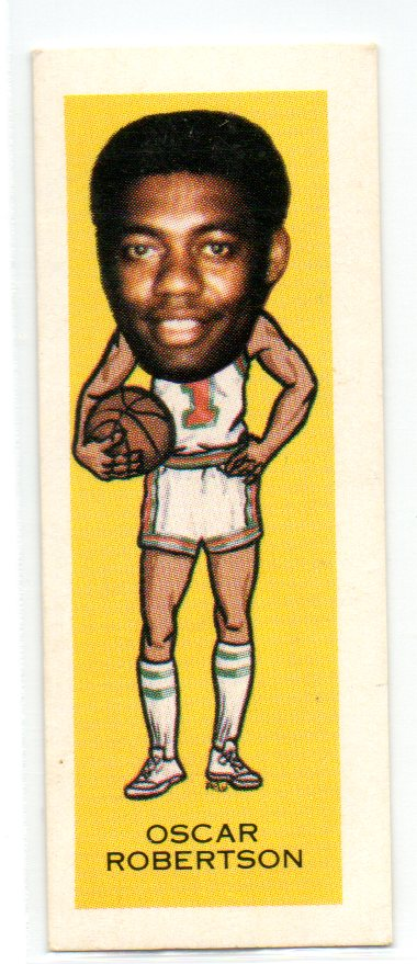 1974 Nabisco Sugar Daddy #17 Oscar Robertson