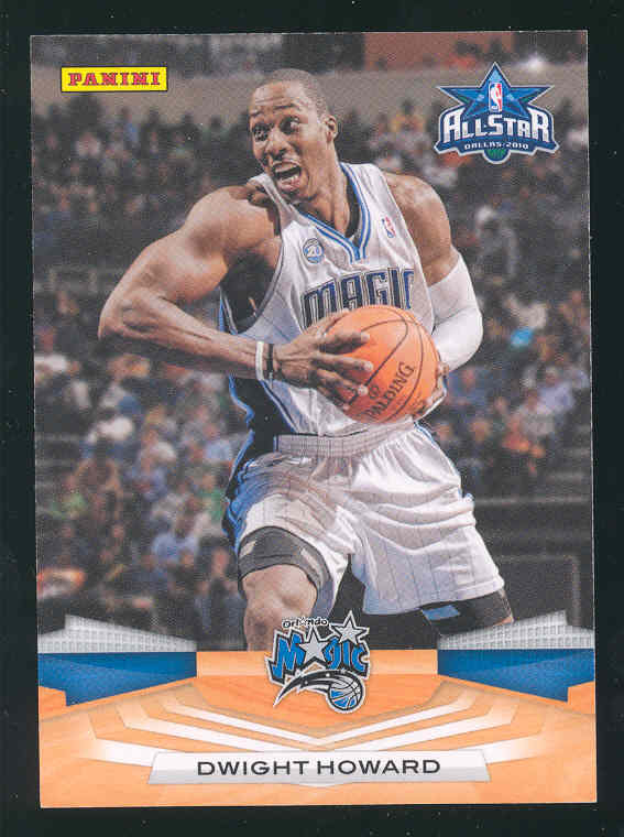 2009-10 Panini #DH Dwight Howard Dallas 2010 All Star Game Card PROMO RARE