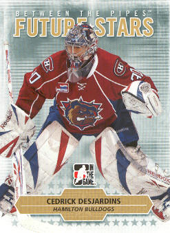 2009-10 Between The Pipes #5 Cedrik Desjardins