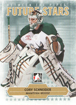 2009-10 Between The Pipes #8 Cory Schneider