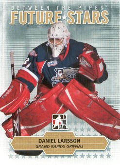 2009-10 Between The Pipes #9 Daniel Larsson