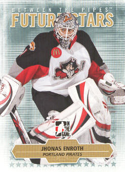 2009-10 Between The Pipes #13 Jhonas Enroth