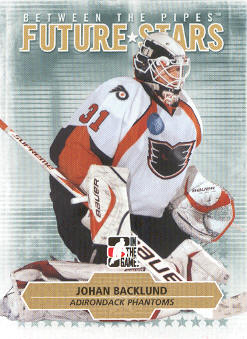 2009-10 Between The Pipes #15 Johan Backlund