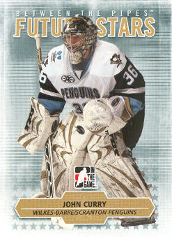 2009-10 Between The Pipes #16 John Curry