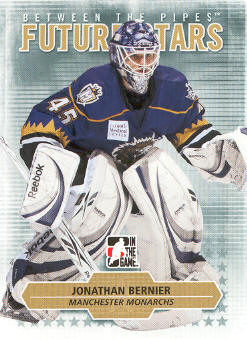 2009-10 Between The Pipes #17 Jonathan Bernier