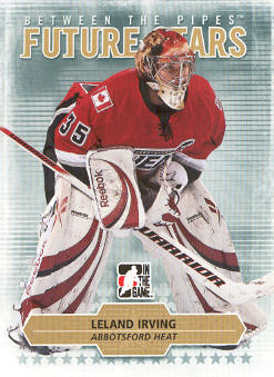 2009-10 Between The Pipes #20 Leland Irving