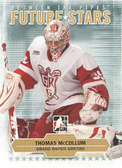 2009-10 Between The Pipes #28 Thomas McCollum