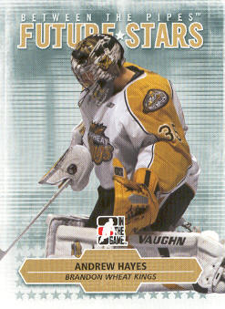 2009-10 Between The Pipes #31 Andrew Hayes