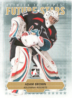 2009-10 Between The Pipes #32 Adam Brown