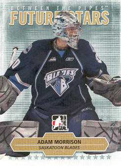 2009-10 Between The Pipes #33 Adam Morrison