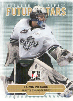 2009-10 Between The Pipes #34 Calvin Pickard