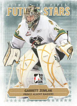 2009-10 Between The Pipes #37 Garrett Zemlak
