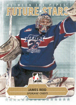 2009-10 Between The Pipes #38 James Reid