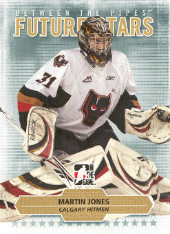 2009-10 Between The Pipes #42 Martin Jones