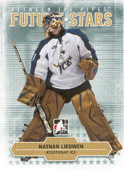 2009-10 Between The Pipes #43 Nathan Lieuwen