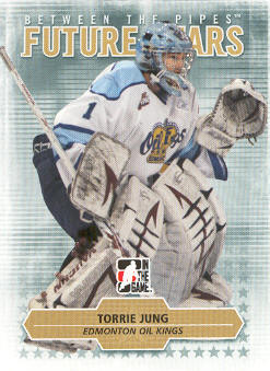 2009-10 Between The Pipes #44 Torrie Jung