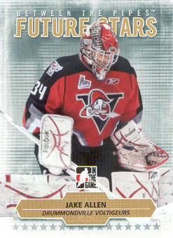 2009-10 Between The Pipes #47 Jake Allen