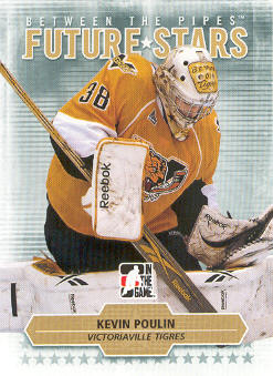 2009-10 Between The Pipes #48 Kevin Poulin