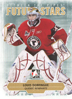 2009-10 Between The Pipes #49 Louis Domingue
