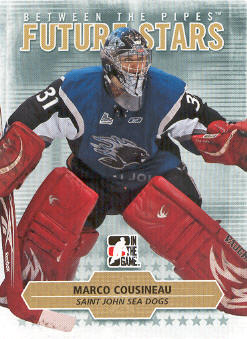 2009-10 Between The Pipes #51 Marco Cousineau