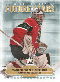 2009-10 Between The Pipes #52 Mathieu Corbeil-Theriault