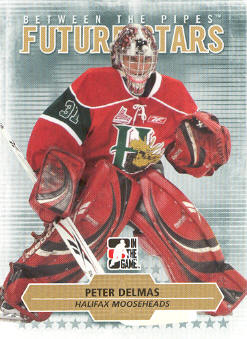 2009-10 Between The Pipes #59 Peter Delmas