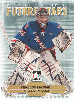 2009-10 Between The Pipes #61 Brandon Maxwell