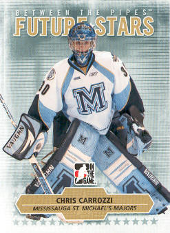2009-10 Between The Pipes #62 Chris Carrozzi